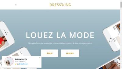 Site internet de Dresswing