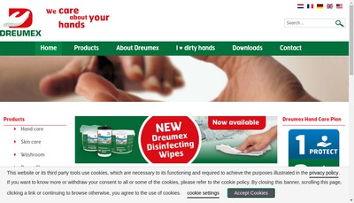 Site internet de Dreumex