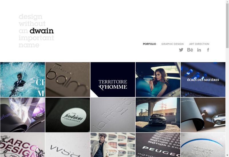 Capture d'écran du site de Dwain et Visiteonline.fr