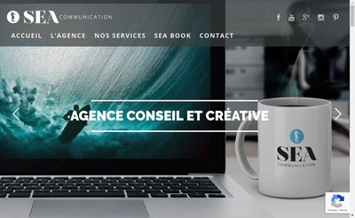 Site internet de Sea Communication