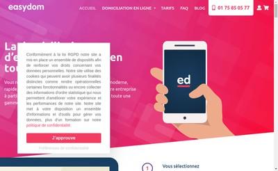 Site internet de Alpha Forum Etoile - Easy Domiciliation