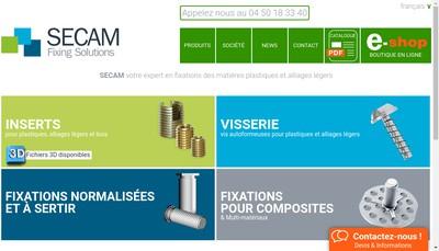Site internet de Secam