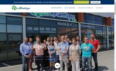 Site internet de Eco Atlantique