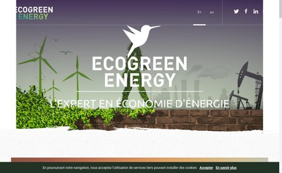 Site internet de Ecogreenenergy