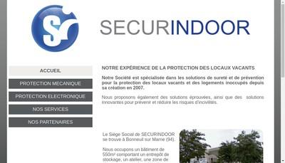 Site internet de Secur Indoor