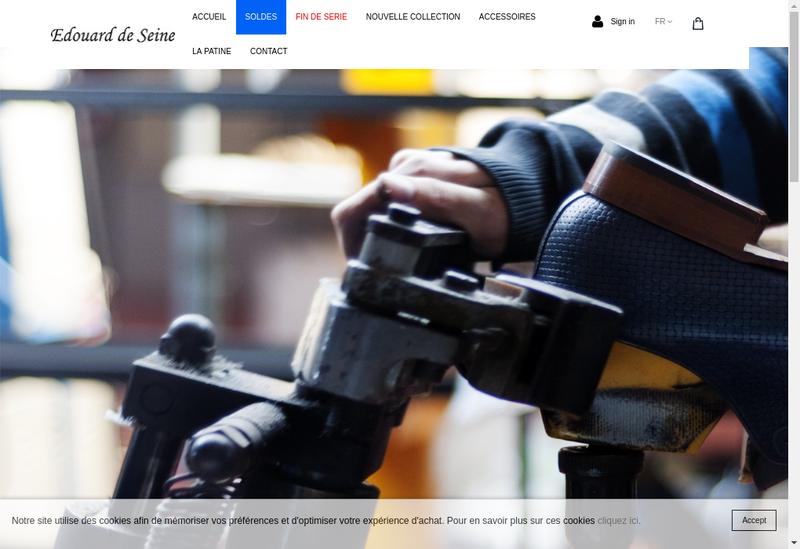 Capture d'écran du site de Tavares France
