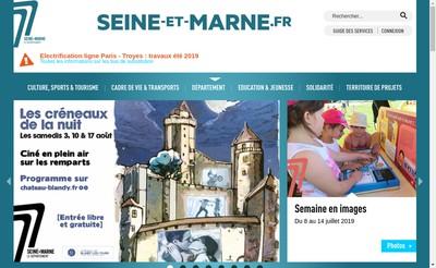 Site internet de Seine et Marne Habitat