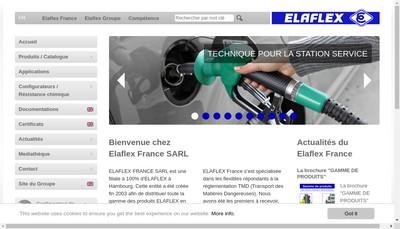 Site internet de Elaflex France SARL
