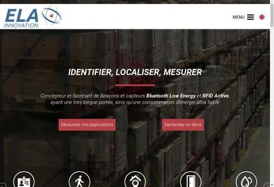 Site internet de Ela Innovation