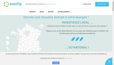 Site internet de Enerfip