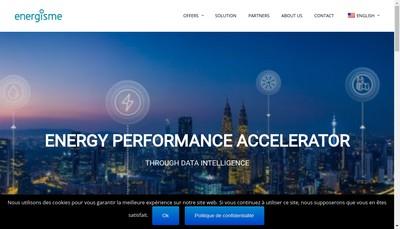 Site internet de Energisme