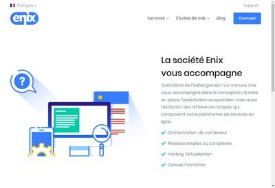 Site internet de Enix