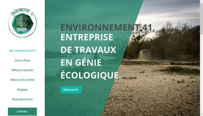 Site internet de Environnement 41