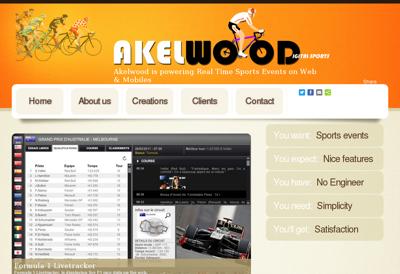 Capture d'écran du site de Studio Ad Hoc