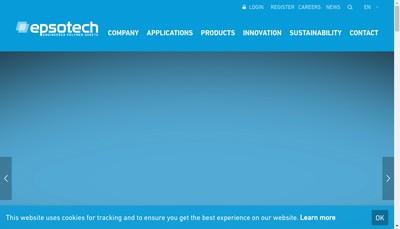 Site internet de Epsotech France