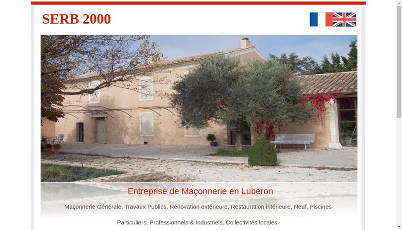 Capture d'écran du site de Serb 2000