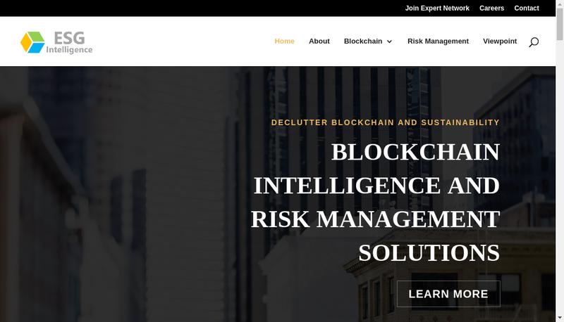 Capture d'écran du site de Tbli Consulting