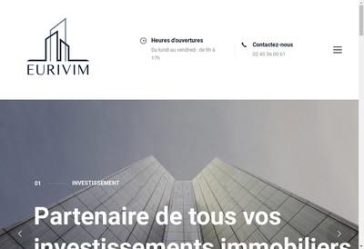 Site internet de Groupe Eurivim