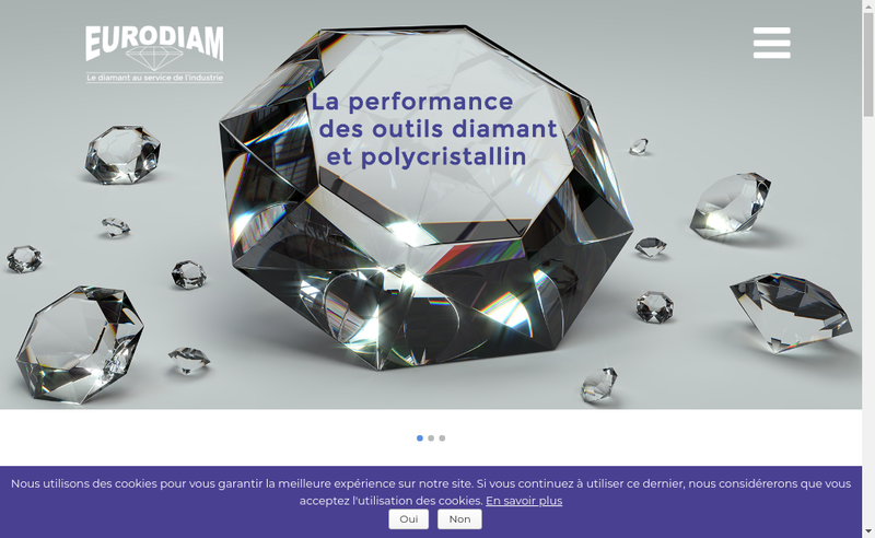 Capture d'écran du site de Eurodiam