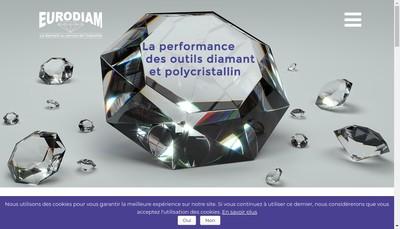 Site internet de Eurodiam