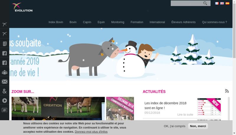 Capture d'écran du site de Sersia France