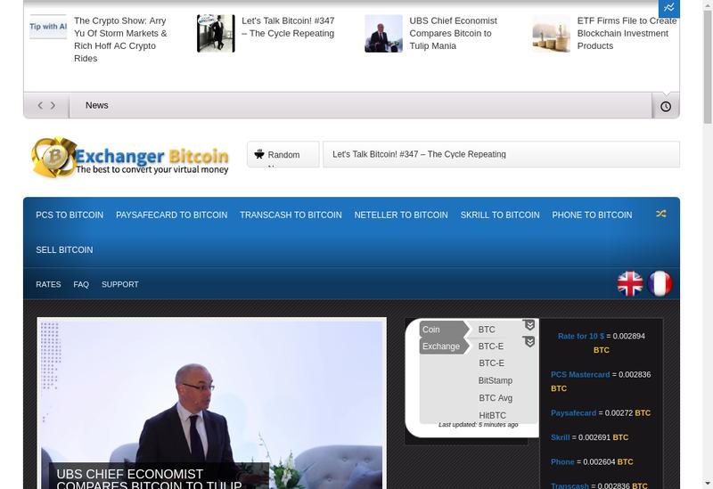 Capture d'écran du site de Refficience