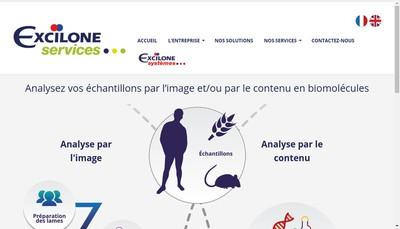 Site internet de Excilone