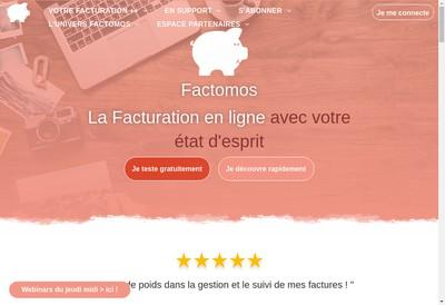Site internet de Factomos