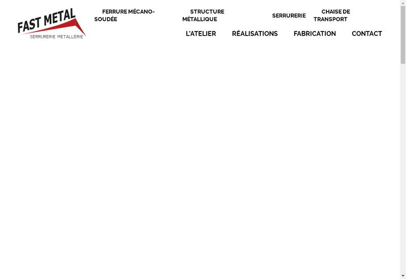 Capture d'écran du site de Fast Metal