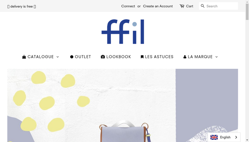 Capture d'écran du site de Deux Filles en Fil