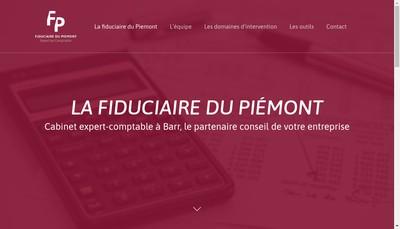 Site internet de Fiduciaire du Piemont