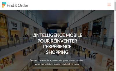 Site internet de Find & Order
