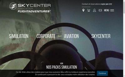 Site internet de Sky Center