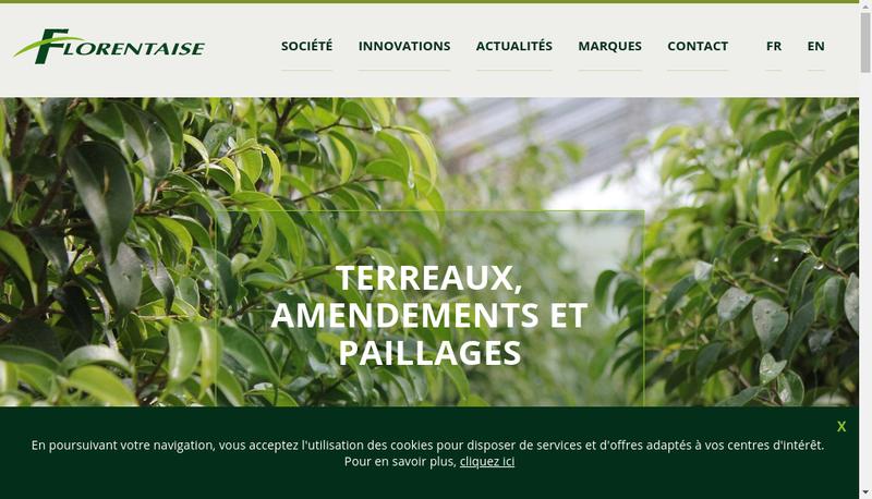 Capture d'écran du site de Terre et Nature