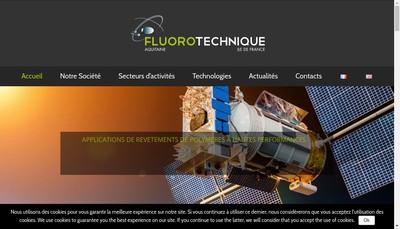 Site internet de Fluorotechnique