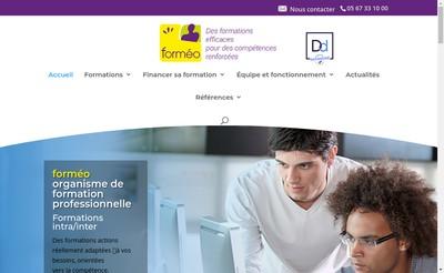 Site internet de Formeo