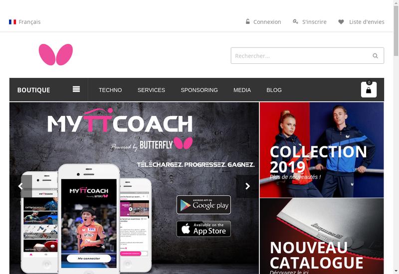 Capture d'écran du site de Dauphin