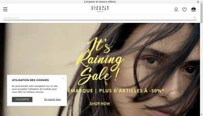 Site internet de Claudie Pierlot