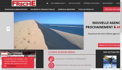 Site internet de Freche Gestion