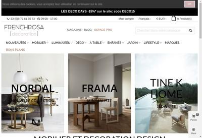 Site internet de Frenchrosa