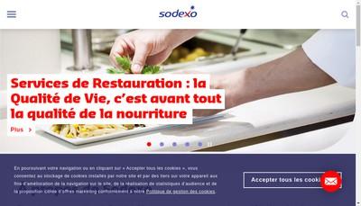 Site internet de Sodexo Energie et Maintenance