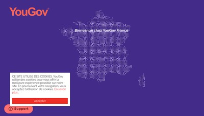 Site internet de Yougov France