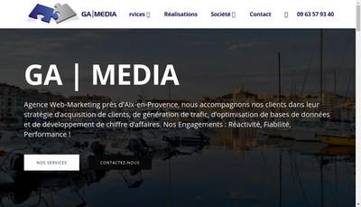 Site internet de Ga Media