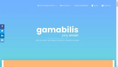 Site internet de Gamabilis