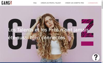 Site internet de Gangz