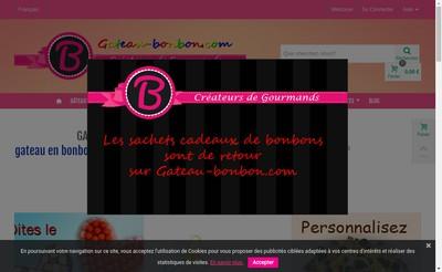 Site internet de Bcombonbon SARL