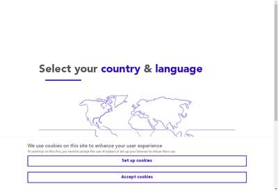 Site internet de Geodis Ile de France Services