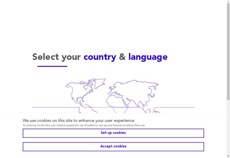 Capture d'écran du site de Geodis Ile de France Services
