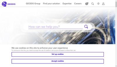 Site internet de Transports Bernis