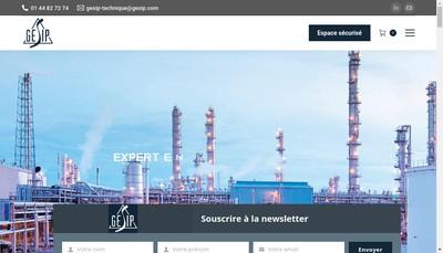 Site internet de Gesip